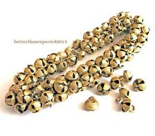 LOT OF 25 GHUNGROO BRASS BELLS INDIAN ANTIQUE TRIBAL BANJARA ETHNIC KUCHI BEADS
