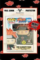 Funko Pop! Naruto PAIN Mighty Push GITD #944 Chalice Collectibles MINT+Protector