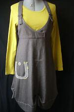 """2026 -  Magnifique robe """"GOCCE"""" à bretelles effet salopette + top offert"""