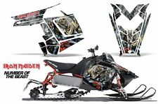 AMR Racing Sled Wrap Polaris Switchback Snowmobile Graphic Kit 11-14 IRON MAIDEN