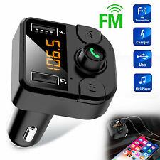 vivavoce wireless Bluetooth per auto Trasmettitore FM Radio MP3 Caricatore USB
