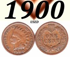 1900  INDIAN HEAD USED BUT NICE PENNY.===USED===COPPER================