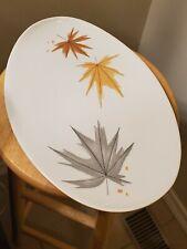 Informal Iroquois Ben Seibel Harvest Time Oval Platter Vtg Mid Century 15x10 EUC