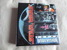 STAR WARS - TOPPS WIDEVISION 1995  COLLECTOR BINDER