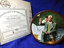 Norman Rockwell's The Country Doctor Factory Box Coa