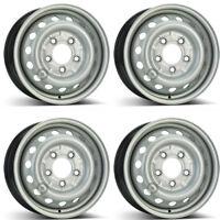 4 Stahlfelgen Alcar 8555 6.0x15 ET75 5x130 für Mercedes Benz Sprinter