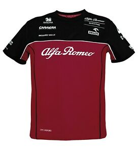Alfa Romeo Racing Men's Team T-Shirt - 2020 - clearance price - Size XXL only