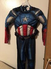 Preowned Avengers Medium Halloween Costume And Belt
