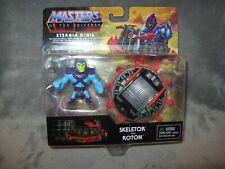 He-Man Masters of the Universe Eternia Minis ~ Skeletor & Roton 2-pack MOSC MOTU