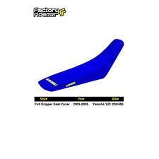 2003-2005 YAMAHA YZF 250-450 All Blue FULL GRIPPER SEAT COVER BY Enjoy MFG