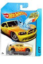 2014 Hot Wheels Color Shifters City #41 Dodge Charger SRT8