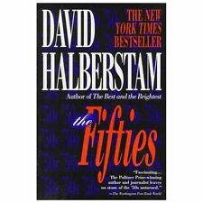 THE FIFTIES paperback book by David Halberstam FREE SHIPPING 50s culture