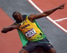 Usain Bolt Olímpicos 100 Metros De Leyenda 10x8 Foto