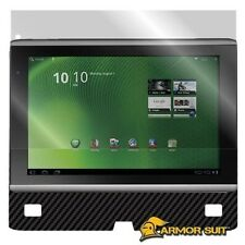 ArmorSuit MilitaryShield Acer Iconia A500 Screen Protector + Black Carbon Fiber