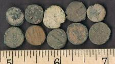 GIGANTIC PRICE REDUCTION SALE - 30  SMALL UNCLEANED ANCIENT COINS 2000 YRS OLD