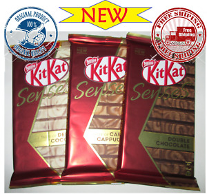 NEW candy chocolate KitKat--three different double flavors!!! 3*112g from Russia