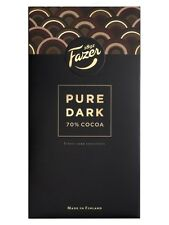 Fazer Pure Original Luxury Finnish Dark Chocolate 70% Cocoa 95g 3.35oz