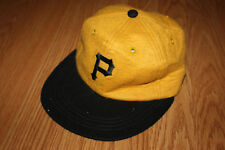 RARE original 1960's 1968 PITTSBURGH PIRATES wool baseball hat Clemente