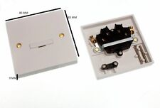 Fused Spur Connection Unit Unswitched Pack Of 10