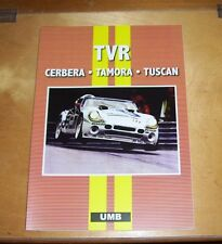 TVR CERBERA TAMORA TUSCAN ROAD TEST REPRINT BOOK.UMB PRESS.