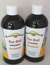 (19,95€/L ) 2 x Heublumen Kur-Bad Schaumbad Heublume 1 Liter Doppelpack