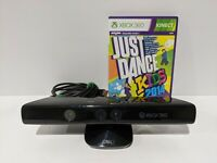 Microsoft Xbox 360 Kinect Connect Sensor Bar Model 1414 WITH Just Dance Game