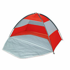 WIlton Bradley Beach Tent Red UPF 40 Sun Protection Shelter