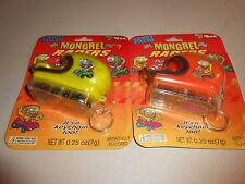 Lot of (2) Unopened Mongrel Racers Candy Filled Race Car Helmet Keychains