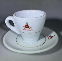 Montecristo Demitasse/Espresso/Coffee Set of 4 Cups & Saucers!