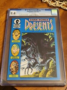 Dark Horse Presents #24 CGC 9.4 White Pages First Aliens Appearance 1st App DHP