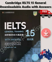 2020 Latest Published IELTS BOOKS Cambridge Tests 15 General+Answers+Free Post