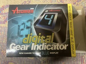 Datatool digital gear indicator, motorbike Honda Kawasaki Yamaha Suzuki