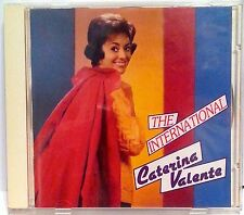 THE INTERNATIONAL CATERINA VALENTE : 28 TRACK BEAR FAMILY CD (BCD 15604) CLASS!!