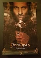 Lord Of The Rings movie poster 11 x 17 inches (v1) Return Of The King