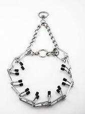 """Collier / Chaine de dressage  En Acier Chromé 50 cm  """" Semi étrangleur '' Chien"""