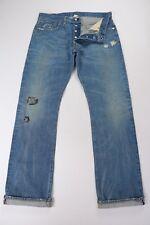 Ralph Lauren RRL Mens Low Straight Selvedge Denim Jeans 36 fits 34 35 x 34