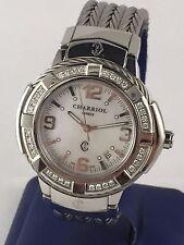Charriol Men's Celtic Watch - Large 43 mm Cable Diamond Bezel