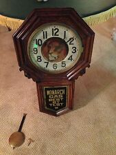"""1900's Custom Made Monarch Gas Corporate Clock by New Haven Company""""Watch Video"""""""