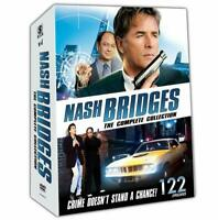 Nash Bridges: Complete Tv Series Seasons 1 2 3 4 5 6 Boxed Dvd Set New
