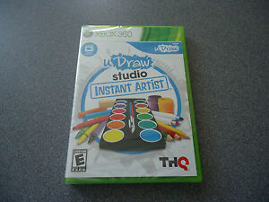 uDraw Studio: Instant Artist Game/Software Only (Microsoft Xbox 360, 2010)