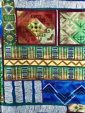 African Style Design Fabric Sykel Enterprises Quilting Sewing Crafts 36 x 42""