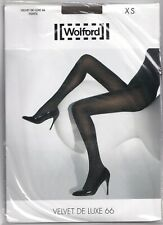 Collant WOLFORD VELVET DE LUXE 66 coloris Caper. Taille XS. Tights.