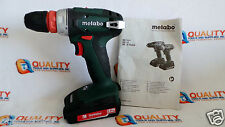 "New Metabo BS18 Quick 18V Cordless Li-Ion 3/8"" Drill/Driver & Battery 2.0Ah"