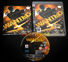 WANTED WEAPONS OF FATE Ps3 Versione Italiana 1ª Edizione ••••• COMPLETO