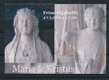 Faroe Islands 2007 Christmas, Kirkjubour Church Sculptures, Booklet Mnh / Unm