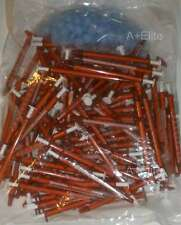 Baxter Baxa Exactamed Amber Oral Medicine Syringe Dispenser 1cc1ml With Cap 100