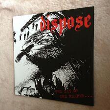 "Dispose / Disease - split 7"" (punk/D-beat/Disclose/Discharge/Doom/Crust/Lipcream"
