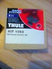 THULE Kit 1093 barras de techo Paquete de pie Vw Passat Variante 98 -