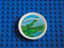 LEGO - POP BADGE ( CROCODILE - WHITE ) 2014