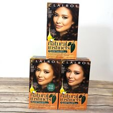 Clairol Natural Instincts Hair Dye 5R Medium Auburn Brown former 22 Lot Of 3